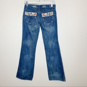Joe's Vintage 1971 Floyd Flair Slim Jeans 25